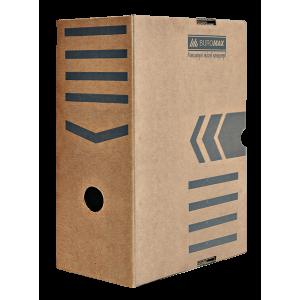 Бокс архивный картон 150 мм 250 х 352 мм BuroMax коричн (BM.3262-34)