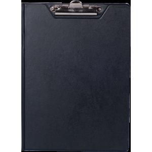 Папка-планшет с верхним зажимом ПВХ (А4) BuroMax (клипборд) черная (BM.3415-01)