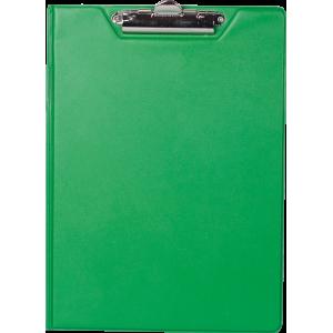 Папка-планшет с верхним зажимом ПВХ (А4) BuroMax (клипборд) зеленая (BM.3415-04)