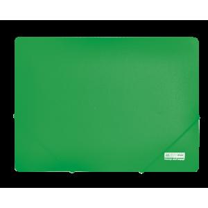 Папка на резинках пластик (А4) Buromax Jobmax зеленый (BM.3911-04)