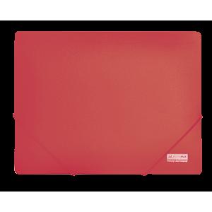 Папка на резинках пластик (А4) Buromax Jobmax красный (BM.3911-05)