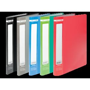 Папка с файлами 10 ф (А4) Buromax Jobmax ассорти (BM.3600-99)