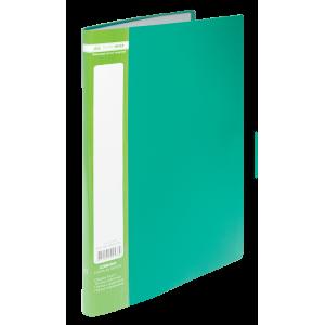 Папка с файлами 10 ф (А4) Buromax (Jobmax) зеленая (BM.3600-04)