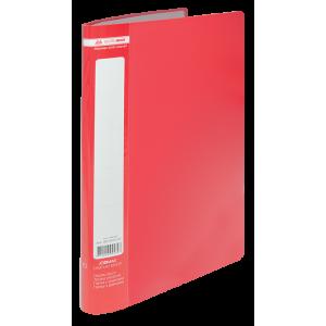 Папка с файлами 10 ф (А4) Buromax JOBMAX красная (BM.3600-05)