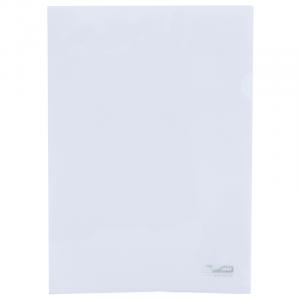 Папка-уголок (А4) 120 мкм прозрачная Buromax JOBMAX (BM.3853-00)