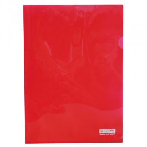 Папка-уголок (А4) 120 мкм красная Buromax JOBMAX (BM.3853-05)