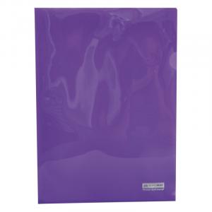 Папка-уголок (А4) 120 мкм глянец фиолет Buromax JOBMAX (BM.3853-07)