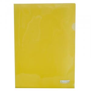 Папка-уголок (А4) 120 мкм глянец желтая Buromax JOBMAX (BM.3853-08)