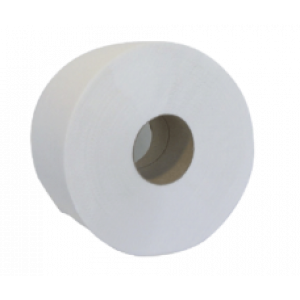 Бумага туалетная 2слойн Buroclean ВЕЛИКАН белая d-19 см 100 м