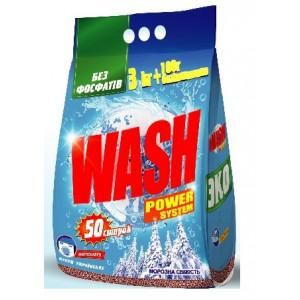 Стиральный порошок (автомат) 3100 гр Wash бесфосфатный