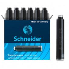 Картридж чернильный короткий Schneider, цвет: черный (6 шт), (S6601)