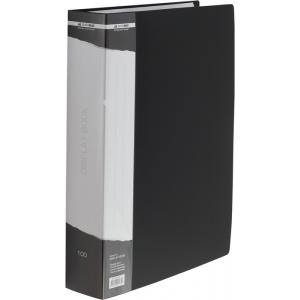 Папка с файлами 100 ф (А4) Buromax (в боксе) черная (BM.3633-01)