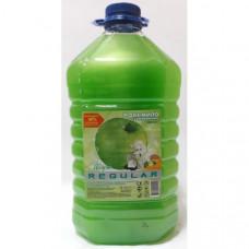 Мыло жидкое 5000 мл Regular (Фруктовое яблоко) (с глицерином)