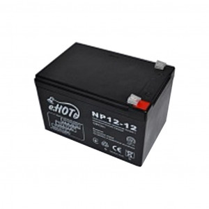 Аккумулятор для ИБП 12В 12 Ач (NP12-12) Enot