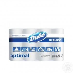 Полотенца рулонные 2-слой SoffiPro (Обухов) белые (8 рул/уп)