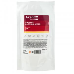 Салфетки для оргтехники (запаска) Axent (100 шт) (D5311)