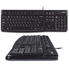 Клавиатура Logitech K120 Ru USB Black (920-002522)