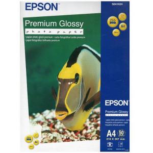 Фотобумага глянцевая A4 255 г/м кв 50 л EPSON Premium Glossy (C13S041624)