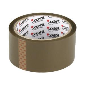 Скотч упаковочный 48 мм х 50 ярд х 45 мкм AXENT (коричневый) (3041-02-A)