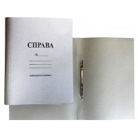 Скоросшиватель картон с метал усиками А4 0,30 мм (БУМВЕСТ)