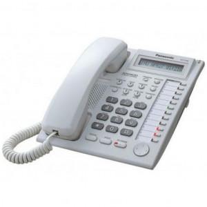 Телефон PANASONIC KX-TS2365UAW (белый корпус)