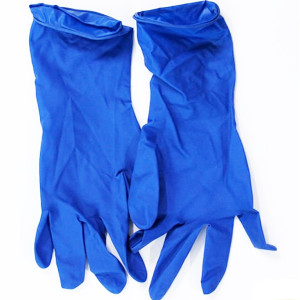 Перчатки латексные (медицинские) M Seven Ambulance (синие)