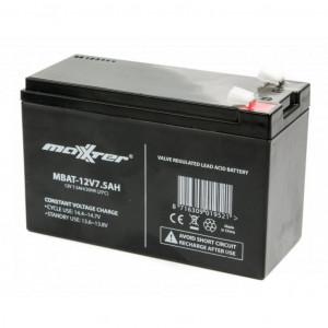 Аккумулятор для ИБП 12V 7,5AH (MBAT-12V7.5AH) Maxxter