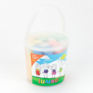 Мел цветной Kite Jumbo 15 цветов в пластик ведре (K17-074)