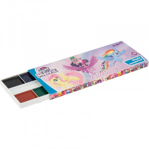 Краски акварельные (без кисти) Kite little Pony, 12 цветов (LP17-041)