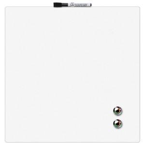 Доска сухостираемая 360 х 360 мм Rexel Quartet магнитно-маркерная белая (1903802)