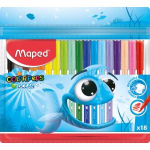 Набор фломастеров Maped Color Peps Ocean 18 цв (MP.845721)