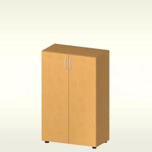 Шкаф для документов (700х347х1103) БЮ405 (яблоня локарно)