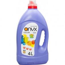 Стиральный гель 4000 мл Onyx для цветных тканей