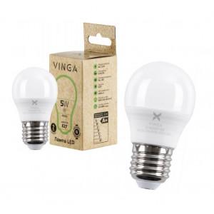 Лампа LED VINGA VL-G45E27-54L (5 Вт., 4000К, Е27)