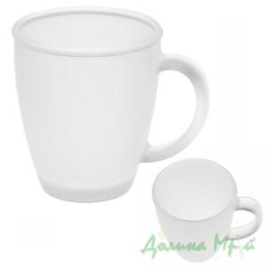 Чашка стеклянная, матовая 88310206 (325 мл.)