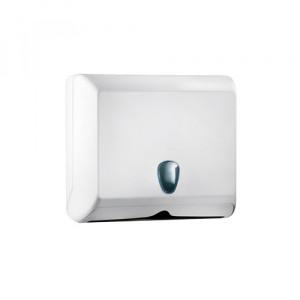 Держатель полотенец бумажных 245 х 90 х 205 мм белый (838)