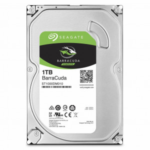 Накопитель HDD 3.5  1.0TB Seagate BarraCuda 7200rpm 64MB (ST1000DM010)