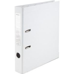 Регистратор 5 см А4 Axent 1стор покрыт, метал окант, белый (D1713-21C)