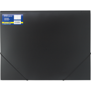 Папка на резинке пластик (А3) Buromax 4-35 мм черная (BM.3918-01)