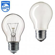 Лампа накаливания PHILIPS А55 100 Вт, цоколь E27 (прозрачная)