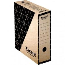 Бокс архивный картон 100 мм 255 х 350 мм Axent коричн (1732-00)