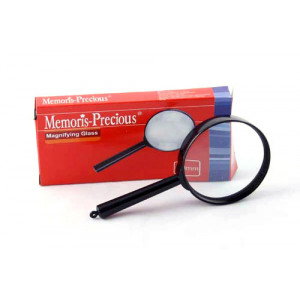 Лупа канц в пластик оправе D-40 мм Memoris-Precious (MF1216-1)