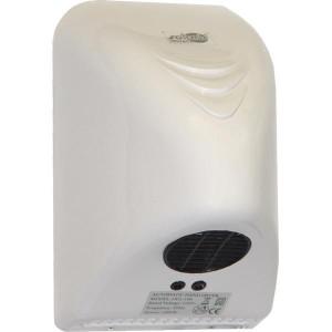 Сушилка для рук автоматическая ZG, мощность 800 Вт., корпус: пластик, цвет: белый, 140 х 150 х 215 мм (071-100)