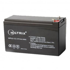 Аккумулятор для ИБП 12V 9AH (NP9-12) Matrix