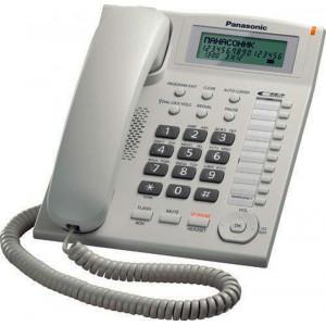 Телефон Panasonic KX-TS2388UAW White (белый корпус)