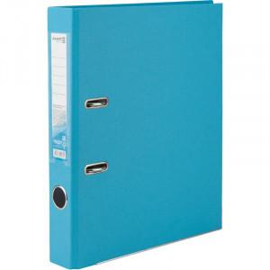 Регистратор 5 см А4 Axent 1стор покрыт, метал окант, светло-голубой (D1713-29C)