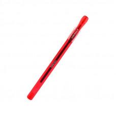 Ручка гелевая Unimax Trigel 0,5 мм красная трехгранная (UX-130-06)