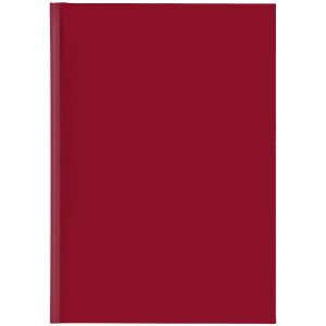 Ежедневник недатированный А5 BRUNNEN Агенда Miradur красный (73-796 64 20)