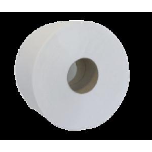 Бумага туалетная 1слойн Джамбо d-19 см 9 х11 см 130 м макулатур с перфорац BUROCLEAN
