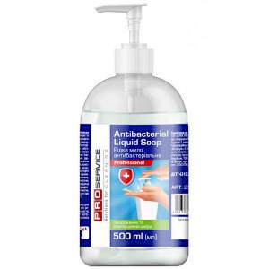 Мыло жидкое с дозатором 500 мл PRO Service Professional (антибактериальное) (25478500)